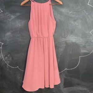 Francesca's Collections Dresses - flowy pink dress